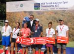 MVK Turkish Amateur Open Championship Prize Giving Ceremony