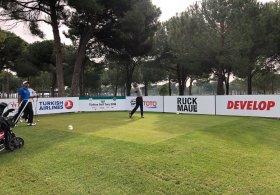 Türkiye Golf Turu'nun 4. Ayak Mücadelesinde 2. Raund tamamlandı