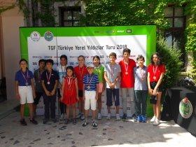 TGF Yerel Yıldızlar Turu Minikler İstanbul Bölgesi 3. Ayak Müsabakası Sona Erdi