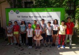 TGF Yerel Yıldızlar Turu Minikler İstanbul Bölgesi 4. Ayak Müsabakası Tamamlandı