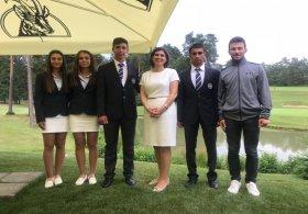 Büyükelçi Esen Altuğ, U16 Milli Golf Takımını Ziyaret etti
