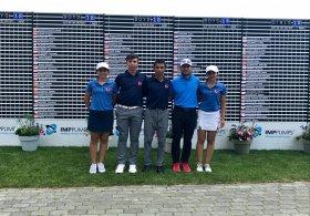 U16 Milli Golf Takımı'nın Slovenya sınavı başladı