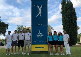 Milli Golf Takımı Akdeniz Oyunları için İspanya'da