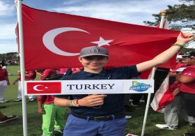 Ali Berk Berker, IMG Akademi Junior Dünya Şampiyonası'nda mücadele ediyor