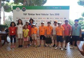 TGF Yerel Yıldızlar Turu Minikler Antalya Bölgesi 3. Ayak Müsabakası Sona Erdi