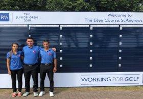 İrem Ve Tarık'ın, The Junior Open 2018'deki Mücadelesi tamamlandı