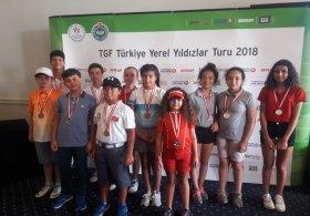 TGF Yerel Yıldızlar Turu Minikler İstanbul Bölgesi 5. Ayak Müsabakası Sona Erdi