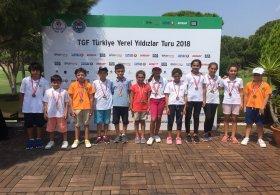 TGF Yerel Yıldızlar Turu Minikler Antalya Bölgesi 5. Ayak Müsabakası Tamamlandı