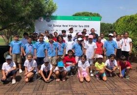 TGF Yerel Yıldızlar Turu Minikler Antalya Bölgesi müsabakaları tamamlandı