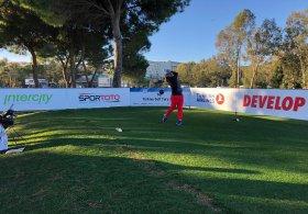 Türkiye Golf Turu'nun 1. Ayak mücadelesi, Antalya Belek'te başladı.