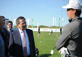 Samsun Büyükşehir Belediye Başkanı Mustafa Demir'den Golf Kulübü'ne ve Turkish Airlines Challenge Ziyaret