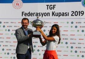 2019 TGF Federasyon Kupası Şampiyonu Ilgın Zeynep Denizci