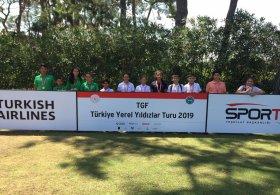 TGF Yerel Yıldızlar Turu Minikler Antalya Müsabakaları başladı