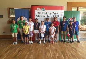 TGF Yerel Yıldızlar Turu Minikler Antalya 5. Ayak Müsabakası Sona Erdi