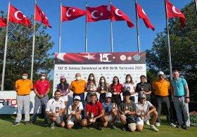 TGF 15 Temmuz Demokrasi ve Milli Birlik Turnuvası'nda  İlk Gün Tamamlandı